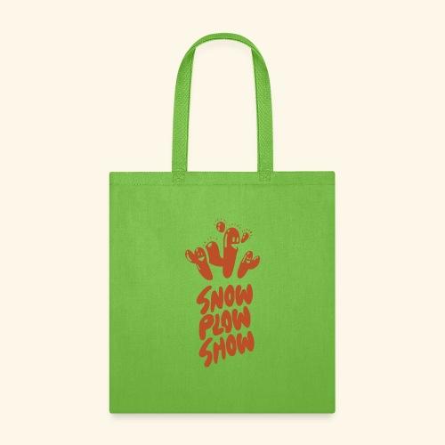 Yati M's Snow Plow Show Orange Logo 2 - Tote Bag