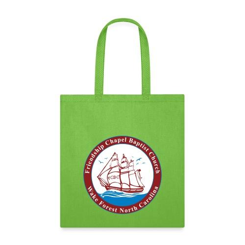 ship art burgundy blue 3 - Tote Bag