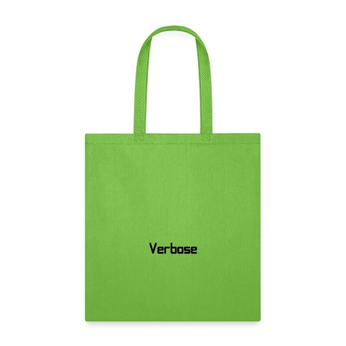 Verbose Text Only - Tote Bag