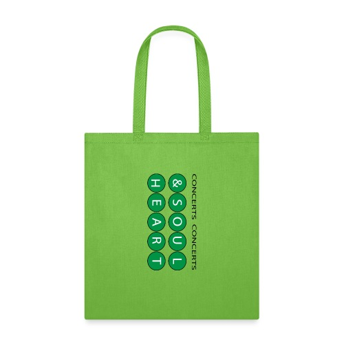 Can't go wrong with Money Green Heart & Soul - Tote Bag