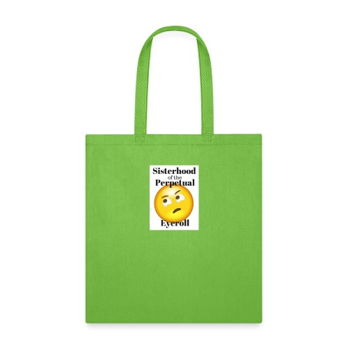 eyerollsisterhoodlogo - Tote Bag