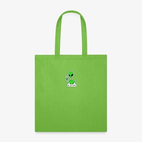 GREEN ALIEN - Tote Bag