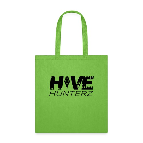 Hive Hunterz Black Logo - Tote Bag