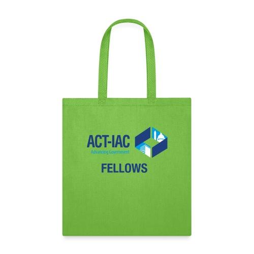 colored WITH TEXT Fellows actiac logo cmyk - Tote Bag