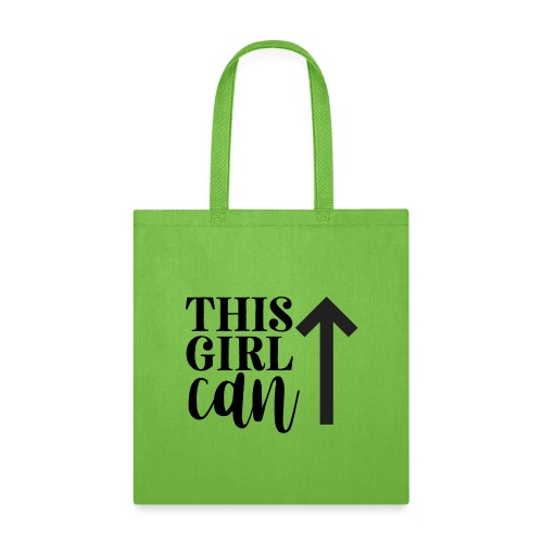 this girl can - Tote Bag