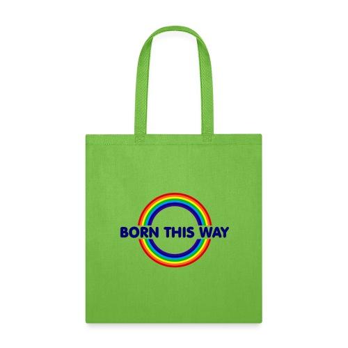 Pride Born This Way (Blue) - Tote Bag