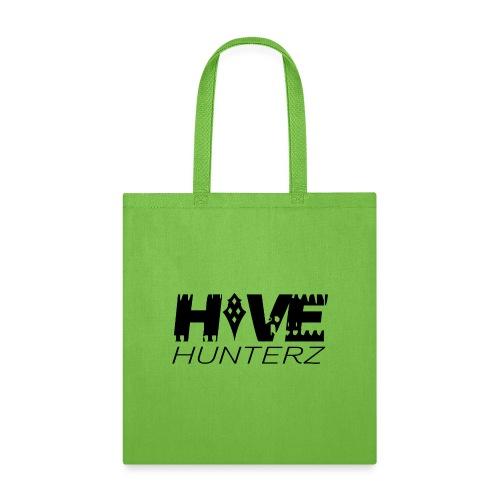 Hive Hunterz Black Logo - Tote Bag
