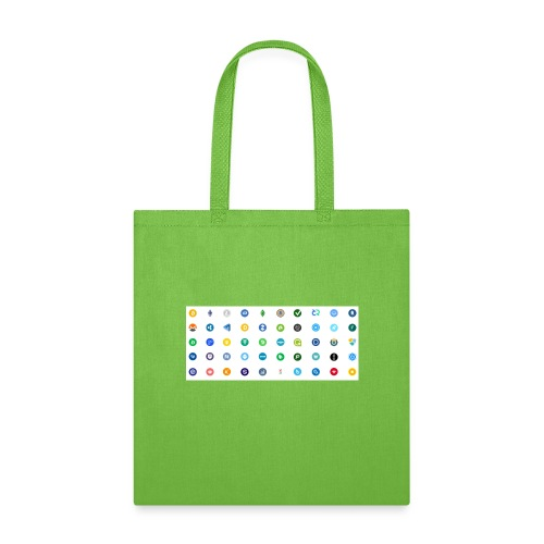 1 Crypto icons - Tote Bag