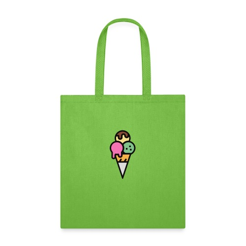 Triple Scoop Cone - Tote Bag