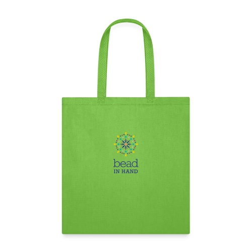 Bead In Hand Logo with tag line - Tote Bag
