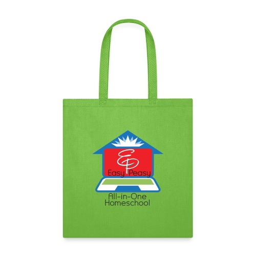 EP Logo with All-In-One Homeschool - Tote Bag