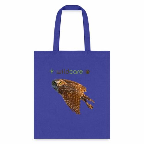 Burrowing Owl in Flight - Tote Bag
