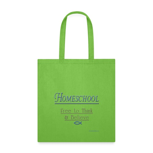 Homeschool Freedom - Tote Bag