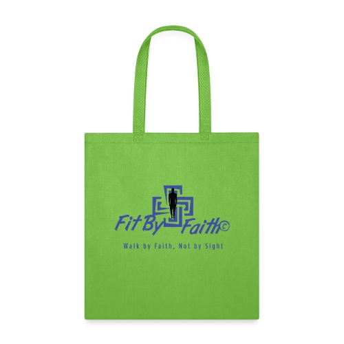 FitbyFaith back png - Tote Bag