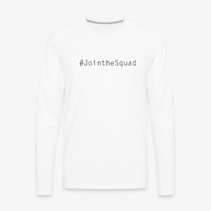 Gaming Squad Text - Men's Premium Long Sleeve T-Shirt