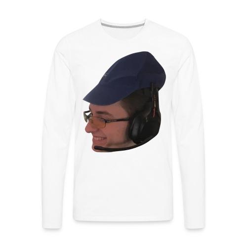 Noah's Face 2 - Men's Premium Long Sleeve T-Shirt