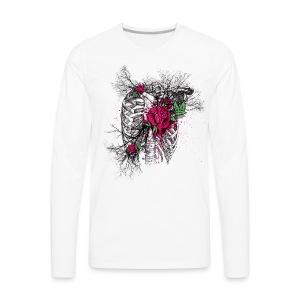 Dead roses - Men's Premium Long Sleeve T-Shirt