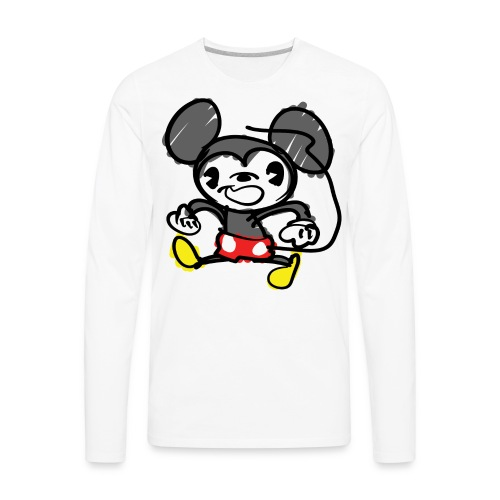 Morky Mouse - Men's Premium Long Sleeve T-Shirt