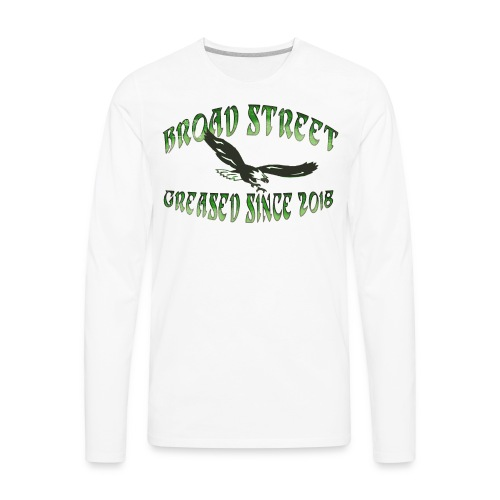 Broad Street Greased - Men's Premium Long Sleeve T-Shirt