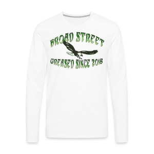 Broad Street Greased - Men's Premium Long Sleeve T-Shirt