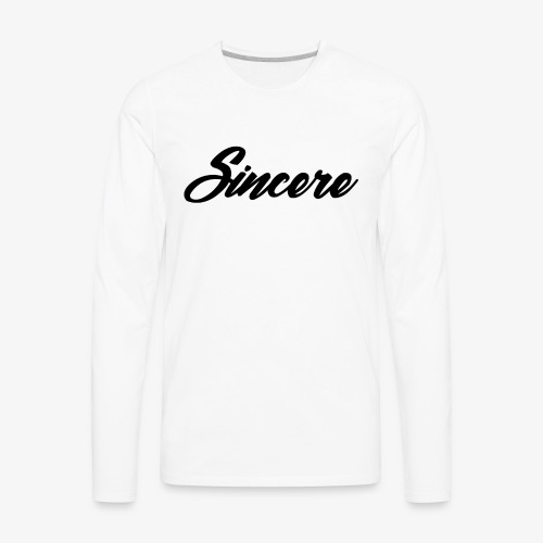 Sincere Apparel - Men's Premium Long Sleeve T-Shirt