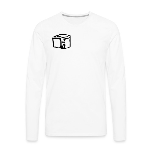 ICY LOGO - Men's Premium Long Sleeve T-Shirt