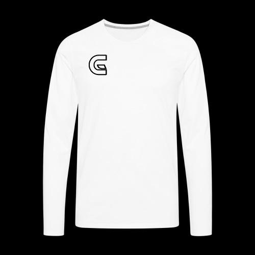 CHASE GLO TSHIRT LOGO - Men's Premium Long Sleeve T-Shirt
