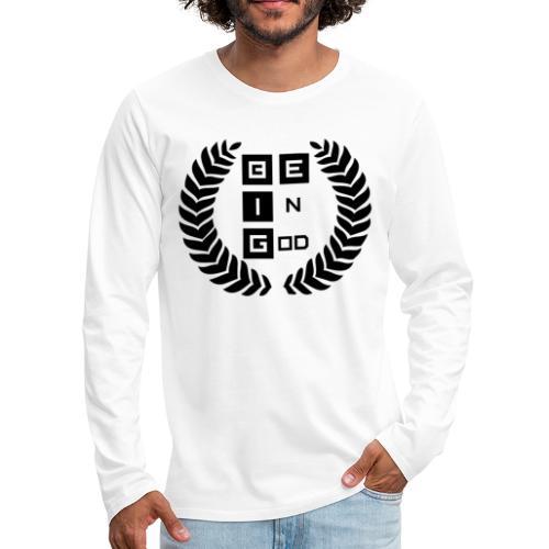 Be BIG Black BeInGod - Men's Premium Long Sleeve T-Shirt