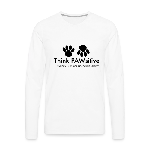 PAWsitive - Men's Premium Long Sleeve T-Shirt