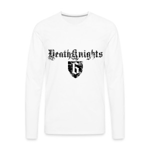 Deathknight6Shieldshirt - Men's Premium Long Sleeve T-Shirt