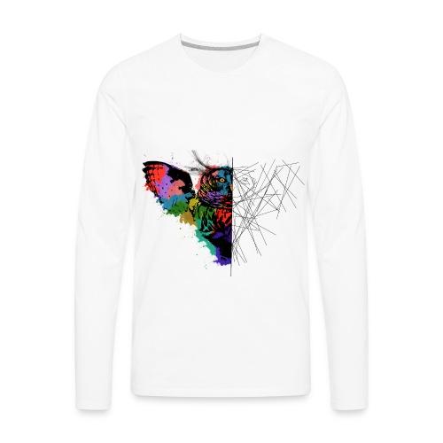 Owl desing - Men's Premium Long Sleeve T-Shirt