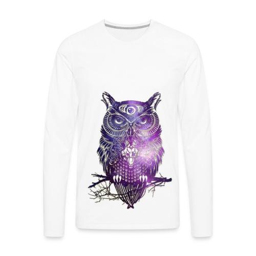 All Seeing Owl - Men's Premium Long Sleeve T-Shirt