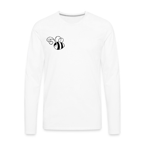 Travis the Bee - Men's Premium Long Sleeve T-Shirt