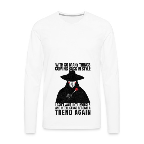 VENDETTA - Men's Premium Long Sleeve T-Shirt