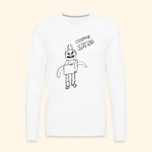 Cheddar Satan - Men's Premium Long Sleeve T-Shirt