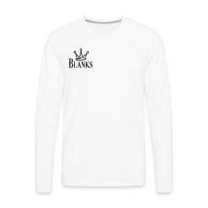 Blanks Merch - Men's Premium Long Sleeve T-Shirt