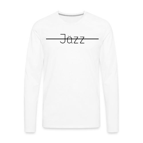 Jazz Logo - Men's Premium Long Sleeve T-Shirt