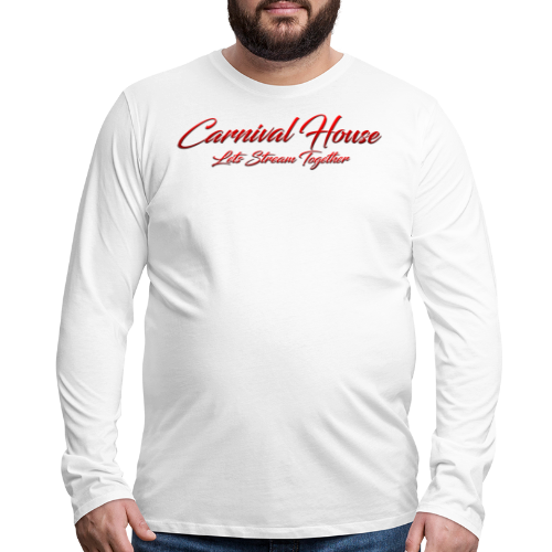 The Carnival House Logo 2.0! - Men's Premium Long Sleeve T-Shirt