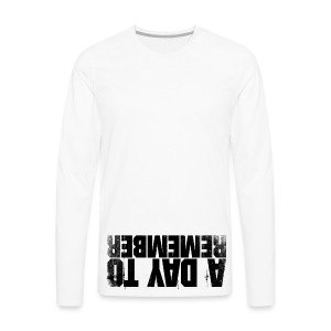 a day to remember - Men's Premium Long Sleeve T-Shirt