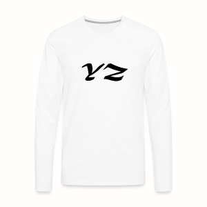 BLACK YZ - Men's Premium Long Sleeve T-Shirt