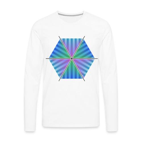 Hexagon of Eternality - Men's Premium Long Sleeve T-Shirt