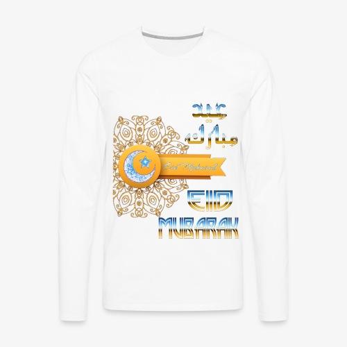 Eid Mubarak , - Men's Premium Long Sleeve T-Shirt