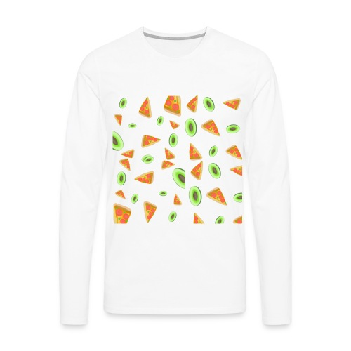 The PizzaCados - Men's Premium Long Sleeve T-Shirt