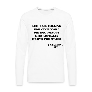 Civil War - Men's Premium Long Sleeve T-Shirt