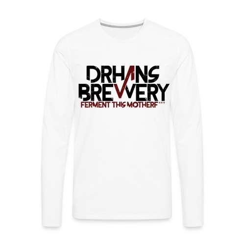 DrHans Brewery Logo - Men's Premium Long Sleeve T-Shirt