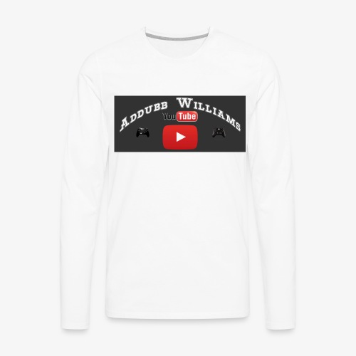 My First Logo For Merch - Men's Premium Long Sleeve T-Shirt