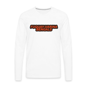 Fuquay-Varina Bengals Retro Design - Men's Premium Long Sleeve T-Shirt