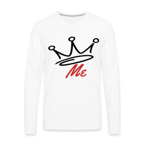 crown me clothing - Men's Premium Long Sleeve T-Shirt