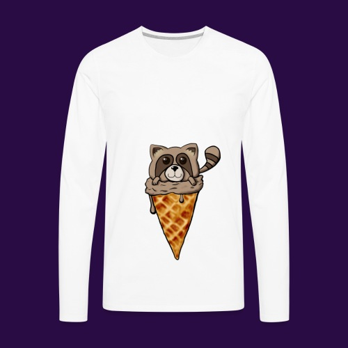 Tanuki Ice Cream - Men's Premium Long Sleeve T-Shirt