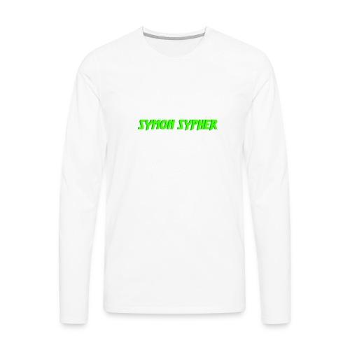 symon sypher - Men's Premium Long Sleeve T-Shirt